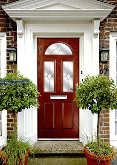 Composite door energy efficient, high security, traditional & contemporary styles, custom colour range,