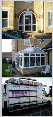 Double glazing, conservatory, home improvements